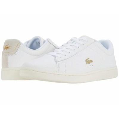 ラコステ レディース スニーカー シューズ Carnaby Evo 0520 1 SFA White/Off-White