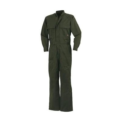 クロダルマ(KURODARUMA) メンズ ツナギ服 ダークグリーン 49056 作業着 作業服 秋冬用 つなぎ