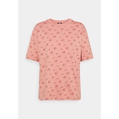 ナイキ Tシャツ レディース トップス TEE - Print T-shirt - rust pink/canyon rust