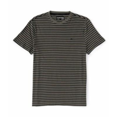 カルバンクライン メンズ シャツ トップス Nautical Stripe Short-Sleeve Tee Uniform Combo