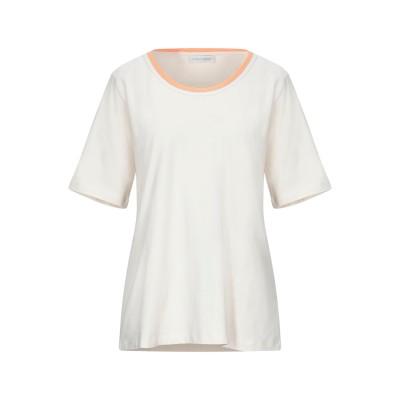 LE TRICOT PERUGIA T シャツ アイボリー XL コットン 95% / ポリウレタン 5% / 真鍮/ブラス T シャツ