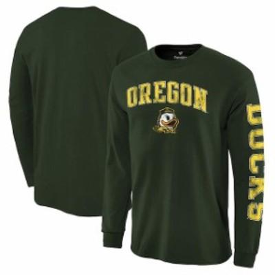 Fanatics Branded ファナティクス ブランド スポーツ用品  Fanatics Branded Oregon Ducks Green Distressed Arch Over