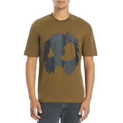 McQアレキサンダーマックイーン メンズ Tシャツ トップス Chester Appliqu Tee