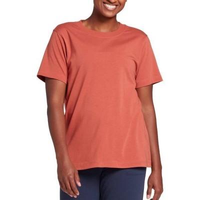キャリー アンダーウッド レディース シャツ トップス CALIA by Carrie Underwood Women's Everyday Boyfriend T-Shirt (Regular and Plus)