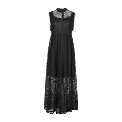 CARE OF YOU ロングワンピース&ドレス ブラック S/M ナイロン 100% ロングワンピース&ドレス
