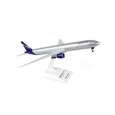 SKY MARKS 1/200 777-300 アエロフロート航空 ギア付 完成品