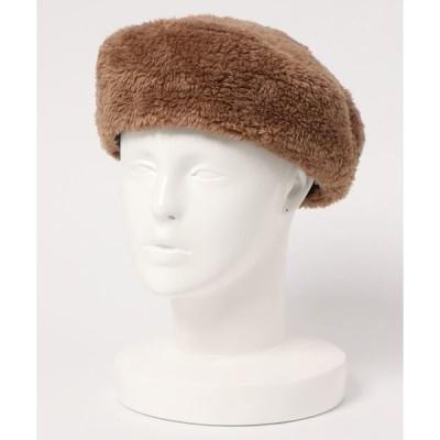 帽子 ファーベレー帽
