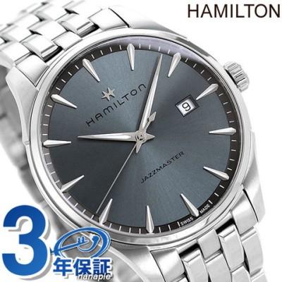 ハミルトン 時計 ジャズマスター ジェント クオーツ メンズ 腕時計 H32451142 HAMILTON ブルーグレー
