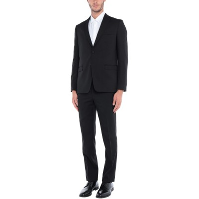 HAVANA & CO. スーツ ブラック 50 レーヨン 55% / ポリエステル 45% スーツ