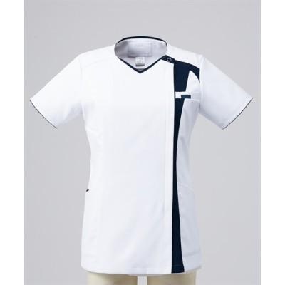 7052SC FOLK レディスジップスクラブ(R) ナースウェア・白衣・介護ウェア