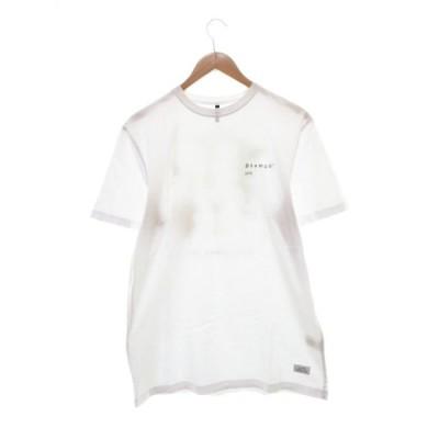【中古】スタンプド STAMPD 19AW DON'T SWEAT IT TEE プリント Tシャツ 半袖 M ホワイト 【ブランド古着ベクトル】 210411 ★ メンズ 【ベクトル 古着】