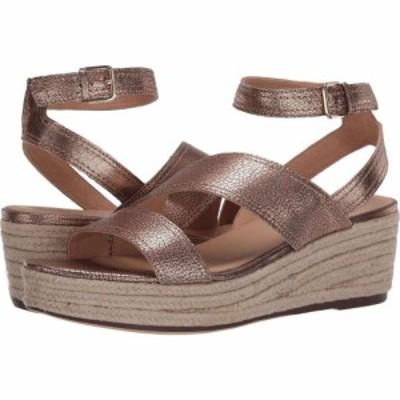 ナチュラライザー Naturalizer レディース サンダル・ミュール シューズ・靴 Ursa Mocha Bronze Metallic Tumbled Leather