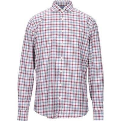 ハケット HACKETT メンズ シャツ トップス checked shirt Garnet