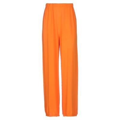 L.V..N. パンツ オレンジ 44 レーヨン 75% / ナイロン 25% パンツ