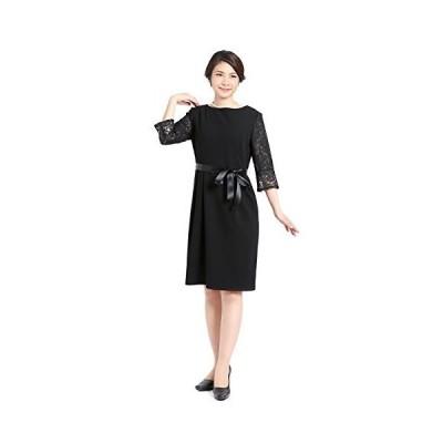 (ニナーズ)nina's 入学式 レディース スーツ フォーマル セレモニースーツ ワンピース 大きいサイズ 黒 入園?
