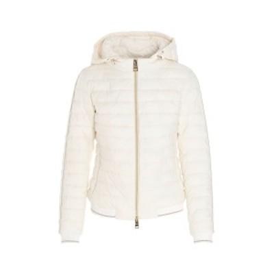 HERNO/ヘルノ White Nuage nylon hooded down jacket レディース 春夏2021 PC0071D192881008 ju