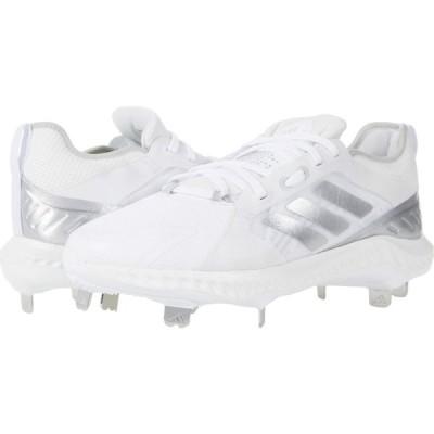 アディダス adidas レディース 野球 シューズ・靴 PureHustle Footwear White/Silver Metallic/Grey One