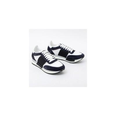 モンクレール MONCLER HORACE ホレス スニーカー 靴 シューズ ネイビー×ホワイト [メンズ] 1019100 01928 610