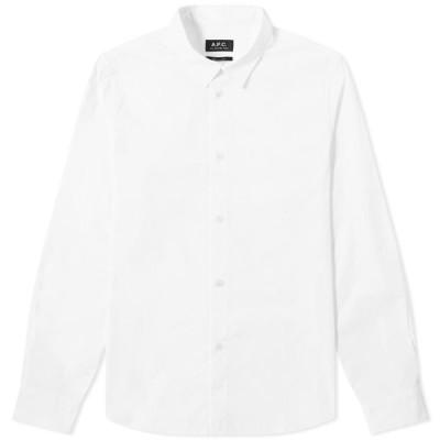 アーペーセー A.P.C. メンズ シャツ トップス Casual Shirt White
