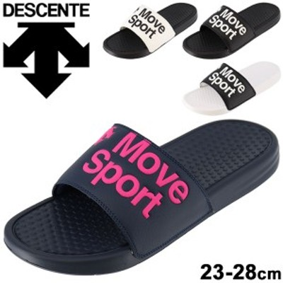 スポーツサンダル メンズ レディース シューズ シャワーサンダル デサント DESCENTE MoveSport 23-28cm/スライドサンダル ロッカー アウ
