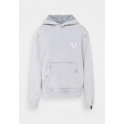 トゥルーレリジョン パーカー・スウェットシャツ レディース アウター HOODY  - Sweatshirt - grey