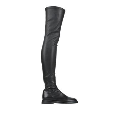 アン ドゥムルメステール ANN DEMEULEMEESTER ブーツ ブラック 35 革 ブーツ