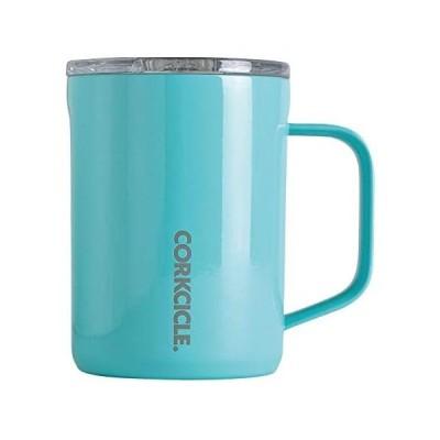 SPICE OF LIFE(スパイス) ステンレスマグカップ ふた付き COFFEE MUG CORKCICLE (ターコイズ 400ml)
