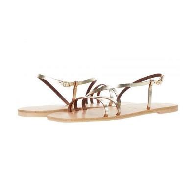 Joie ジョア レディース 女性用 シューズ 靴 サンダル Baja Buckle - Gold
