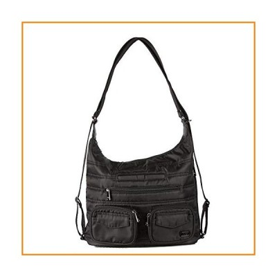 Lug Women's Zip Liner Convertible Bag, Midnight Black, One Size【並行輸入品】
