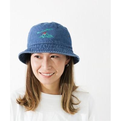 WEST CLIMB / Mountain Mania/マウンテンマニア  マウンテン刺繍バケットハット MEN 帽子 > ハット