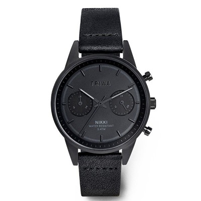 TRIWA トリワ 腕時計 NIGHT NIKKI ニッキー  BLACK CLASSIC NKST108-SS010101P