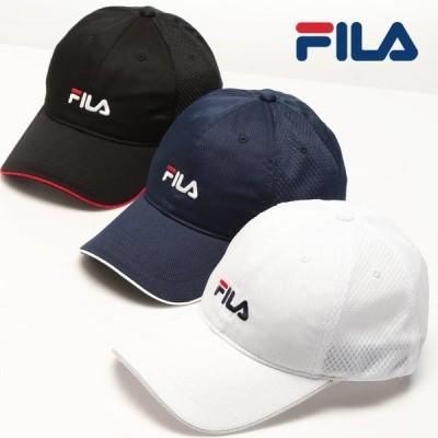 ベースボールキャップ 大きいサイズ メンズ ドライ ウォッシャブル スポーツ アウトドア FILA フィラ