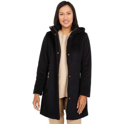 ヴィンスカムート レディース コート アウター Hooded Wool Coat V20770-ZA