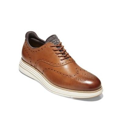 コールハーン ドレスシューズ シューズ メンズ Men's Original Grand Ultra Wingtip Oxford Shoe British Tan, Ivory