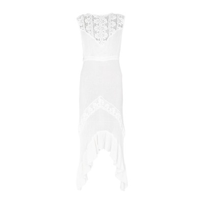 JENS PIRATE BOOTY 7分丈ワンピース・ドレス アイボリー S コットン 100% 7分丈ワンピース・ドレス