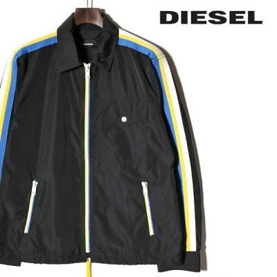 ディーゼル DIESEL ウインドブレイカー ジャケット メンズ バックプリント 裏地メッシュ 薄手 ジップアップ J-RIBPLAZA