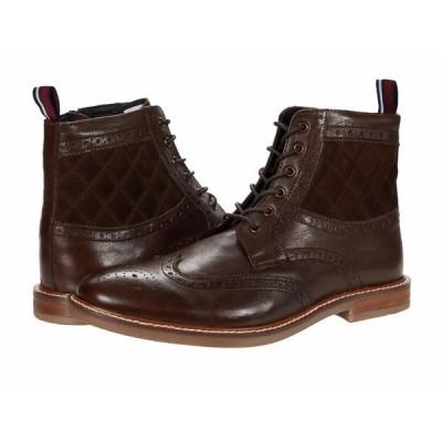 ベンシャーマン ブーツ&レインブーツ シューズ メンズ Brent Wing Tip Boot Brown Leather