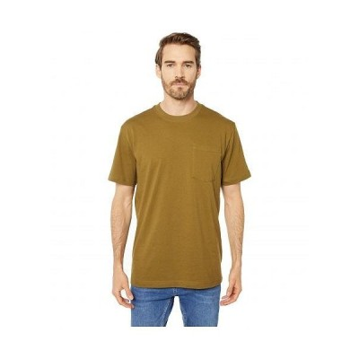 Filson フィルソン メンズ 男性用 ファッション Tシャツ Short Sleeve Outfitter Solid One-Pocket T-Shirt - Olive Drab