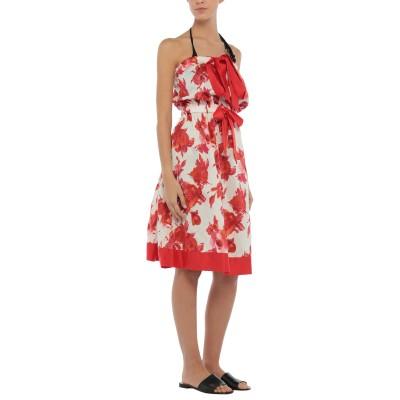 ツインセット シモーナ バルビエリ TWINSET ビーチドレス レッド XS コットン 100% ビーチドレス