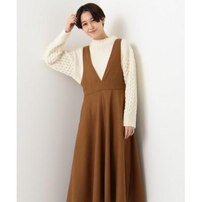 起毛ジャンパー スカート