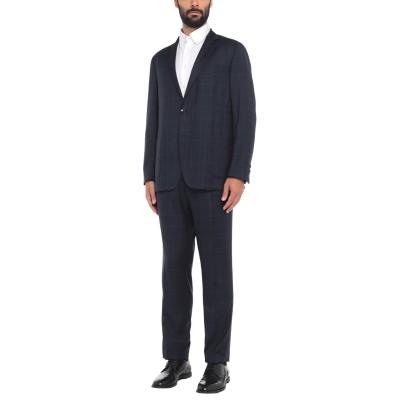 エトロ ETRO スーツ ダークブルー 58 ウール 100% スーツ