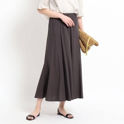 デッサン Dessin 【XS~L】カノコジャージマーメイドスカート (ディープブラウン)