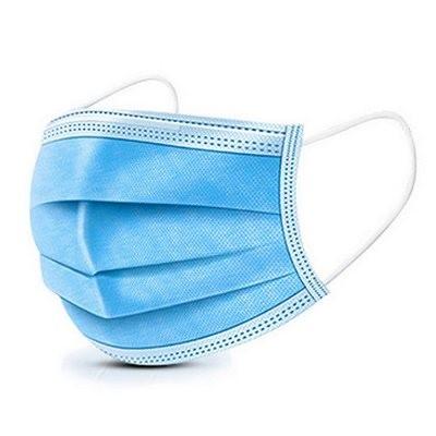 マスク 50枚 入り 日本国内 在庫あり 使い捨てマスク ゴム 不織布 メルトブローン 男女兼用 ますく 防塵 花粉 飛沫感染対策 インフルエンザ 風邪 3D立体加工 mask 防護 花粉症 ブルー