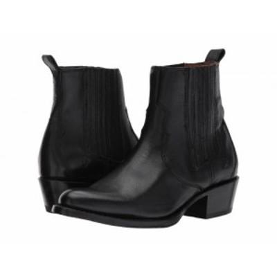Frye フライ レディース 女性用 シューズ 靴 ブーツ チェルシーブーツ アンクル Diana Chelsea Black Pebbled Buffalo【送料無料】
