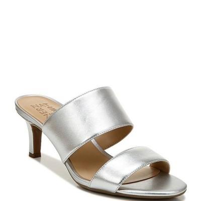 ナチュライザー レディース サンダル シューズ Tibby Metallic Leather Dress Slide Sandals