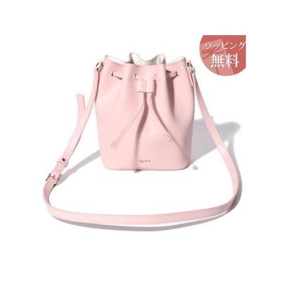 アニエスべー バッグ ショルダーバッグ レディース alice 巾着ショルダー ピンク agnes b