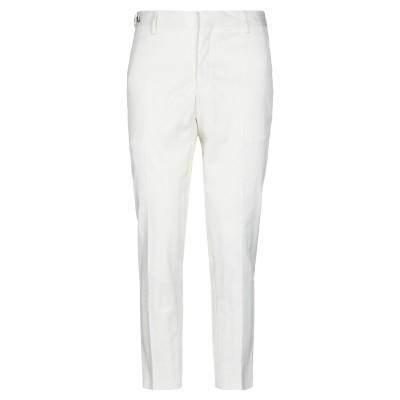 GAZZARRINI パンツ ホワイト 46 コットン 99% / ポリウレタン 1% パンツ
