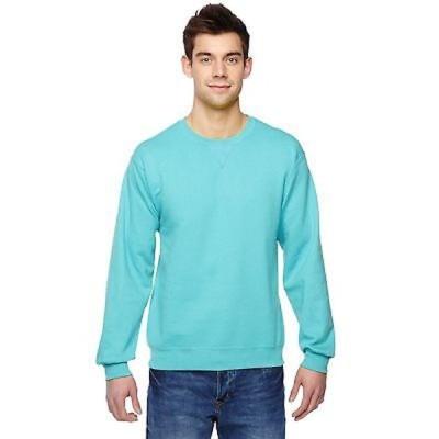 海外直輸入ブランドアクセサリー Sofspun Crew-Neck メンズ Scuba ブルー Sweatシャツ