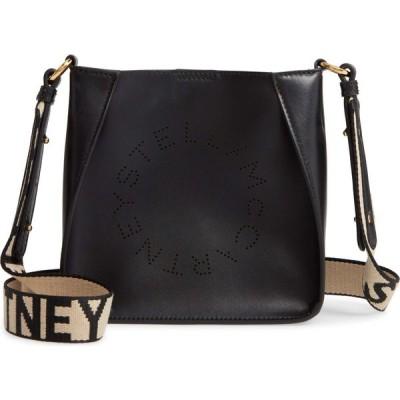 ステラ マッカートニー STELLA MCCARTNEY レディース ショルダーバッグ バッグ Logo Alter Nappa Faux Leather Crossbody Bag Black