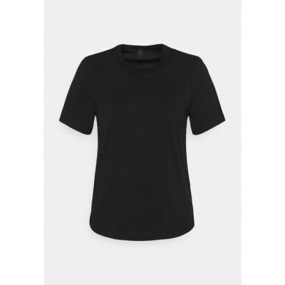 ヤス Tシャツ レディース トップス YASSARITA O-NECK TEE  - Basic T-shirt - black